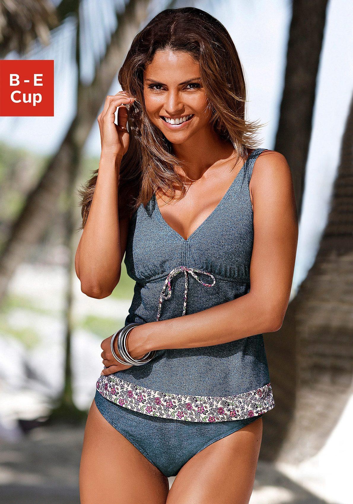 sOliver Beachwear Bügel-Tankini | Bekleidung > Bademode > Tankinis | Blau | S.Oliver Beachwear