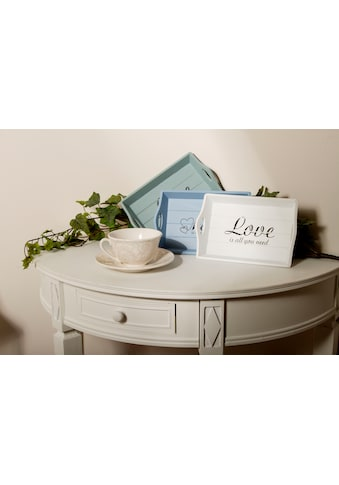 Myflair Möbel & Accessoires Tablett »Love is«, (Set, 3 tlg.) kaufen