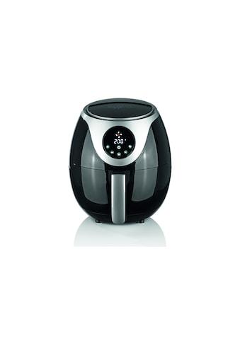 MAXXMEE Heissluftfritteuse »Digital 3 l, Schwarz/Silberfarben« kaufen