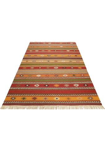 Esprit Teppich »Jaipur«, rechteckig, 5 mm Höhe, reine Schurwolle, Wohnzimmer kaufen