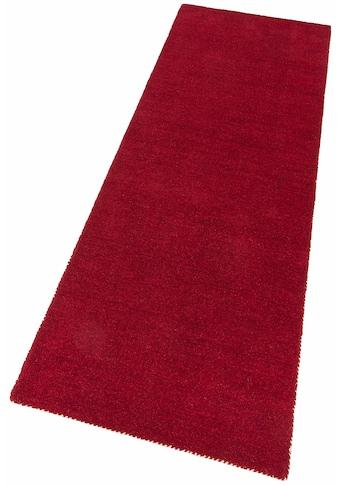 Läufer, »Gabbeh uni«, Theko Exklusiv, rechteckig, Höhe 15 mm, handgewebt kaufen
