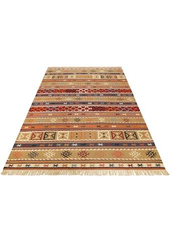 Esprit Teppich »Agra«, rechteckig, 5 mm Höhe, reine Schurwolle, Wohnzimmer kaufen