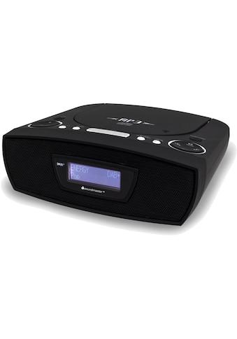 DAB+ Radio, soundmaster, »URD480 Schwarz« kaufen
