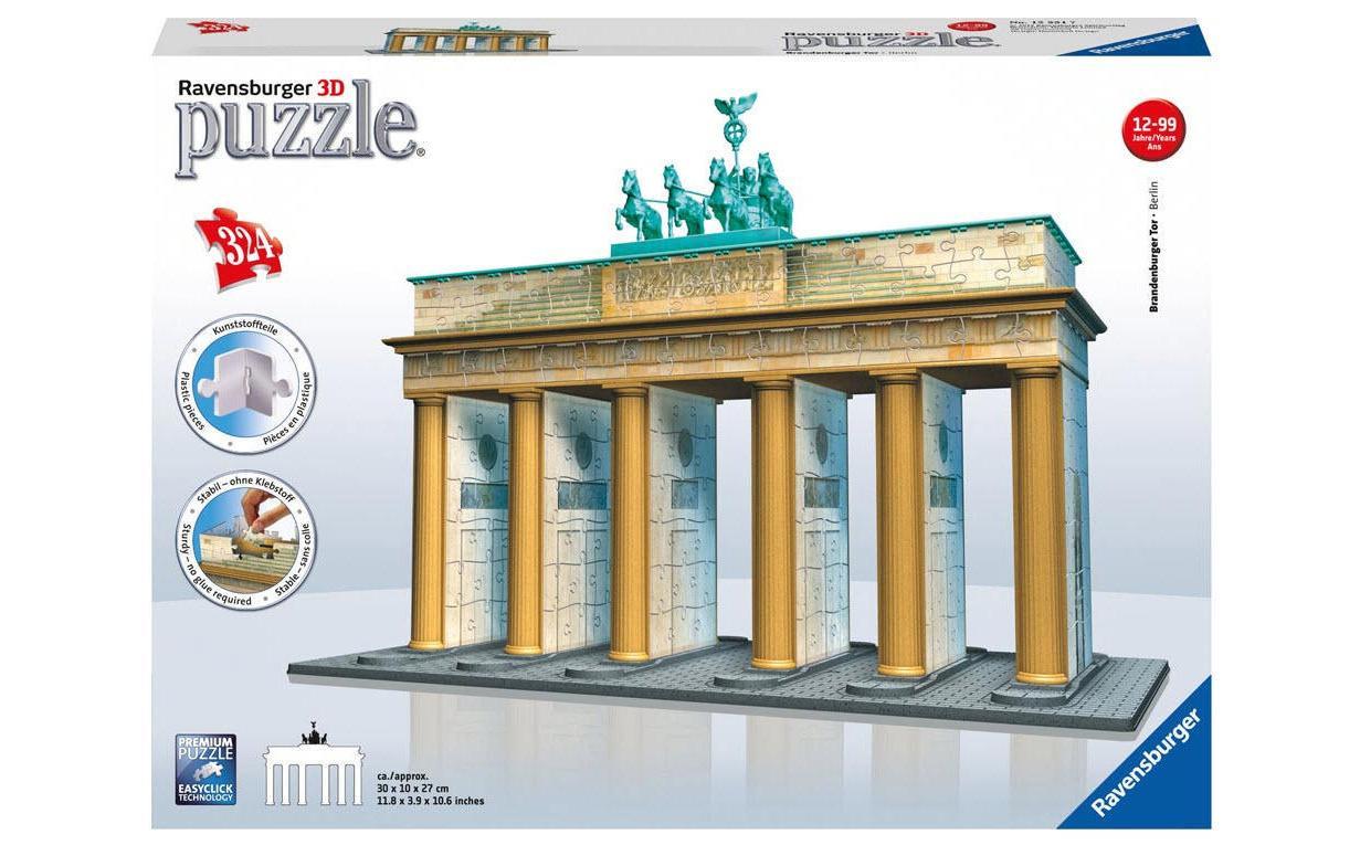Image of 3D Puzzle, Ravensburger, »Brandenburger Tor«