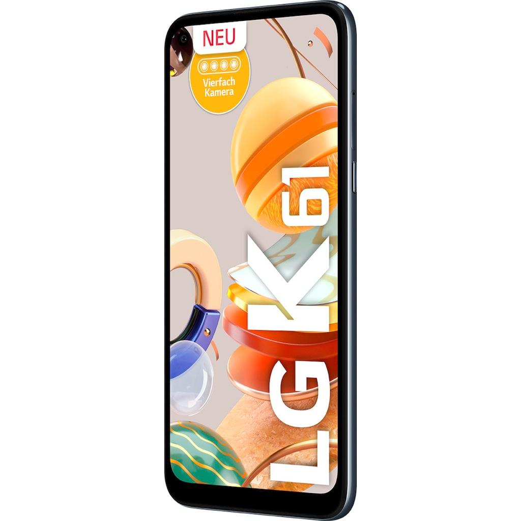 "LG Smartphone »K61«, (16,5 cm/6,53 "", 128 GB Speicherplatz, 48 MP Kamera)"