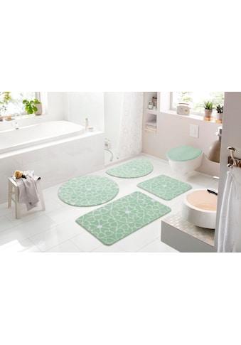 andas Badematte »Mosaik«, Höhe 15 mm, strapazierfähig, besonder weich durch Microfaser kaufen