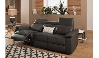 Home affaire 3-Sitzer »Binado«, Wahlweise mit manueller oder elektrischer... kaufen