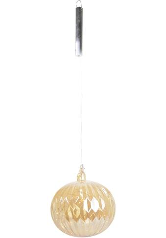 LED Dekolicht »Glaskugel«, mit 20 Lichtern und Timer kaufen
