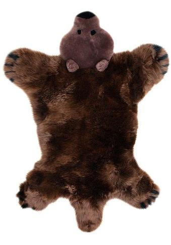 Heitmann Felle Fellteppich »Spielteppich Bär«, fellförmig, 40 mm Höhe, Kinderteppich, echtes Lammfell kaufen