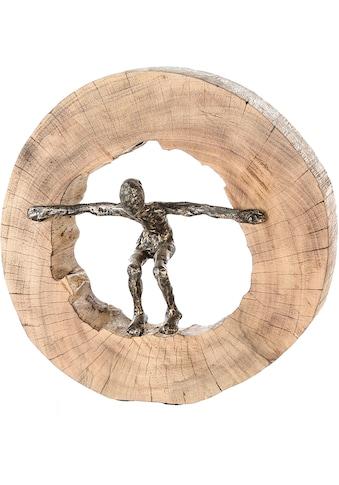Casablanca by Gilde Dekofigur »Skulptur Jumping«, Dekoobjekt, Höhe 29 cm, aus Metall... kaufen