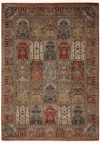 OCI DIE TEPPICHMARKE Orientteppich »Sonam Bakhtyari«, rechteckig, 6 mm Höhe, handgeknüpft, mit Fransen, Wohnzimmer kaufen