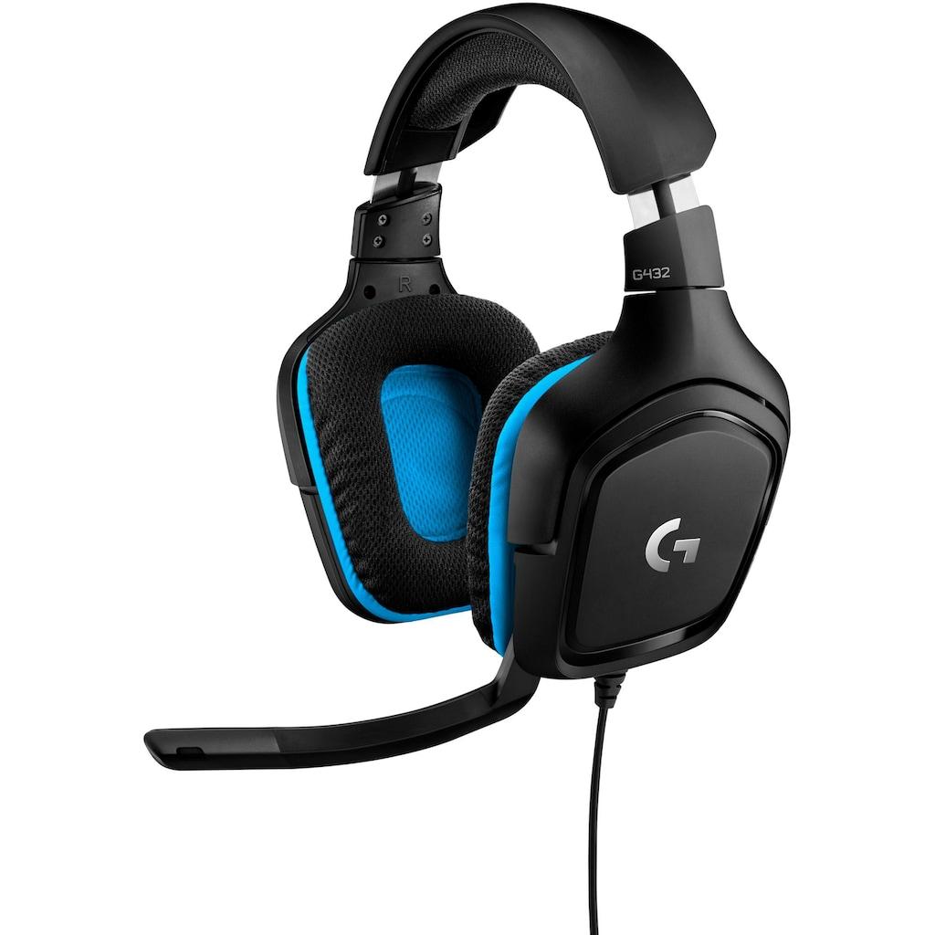 Logitech G Gaming-Headset »G432 - LEATHERETTE - EMEA«