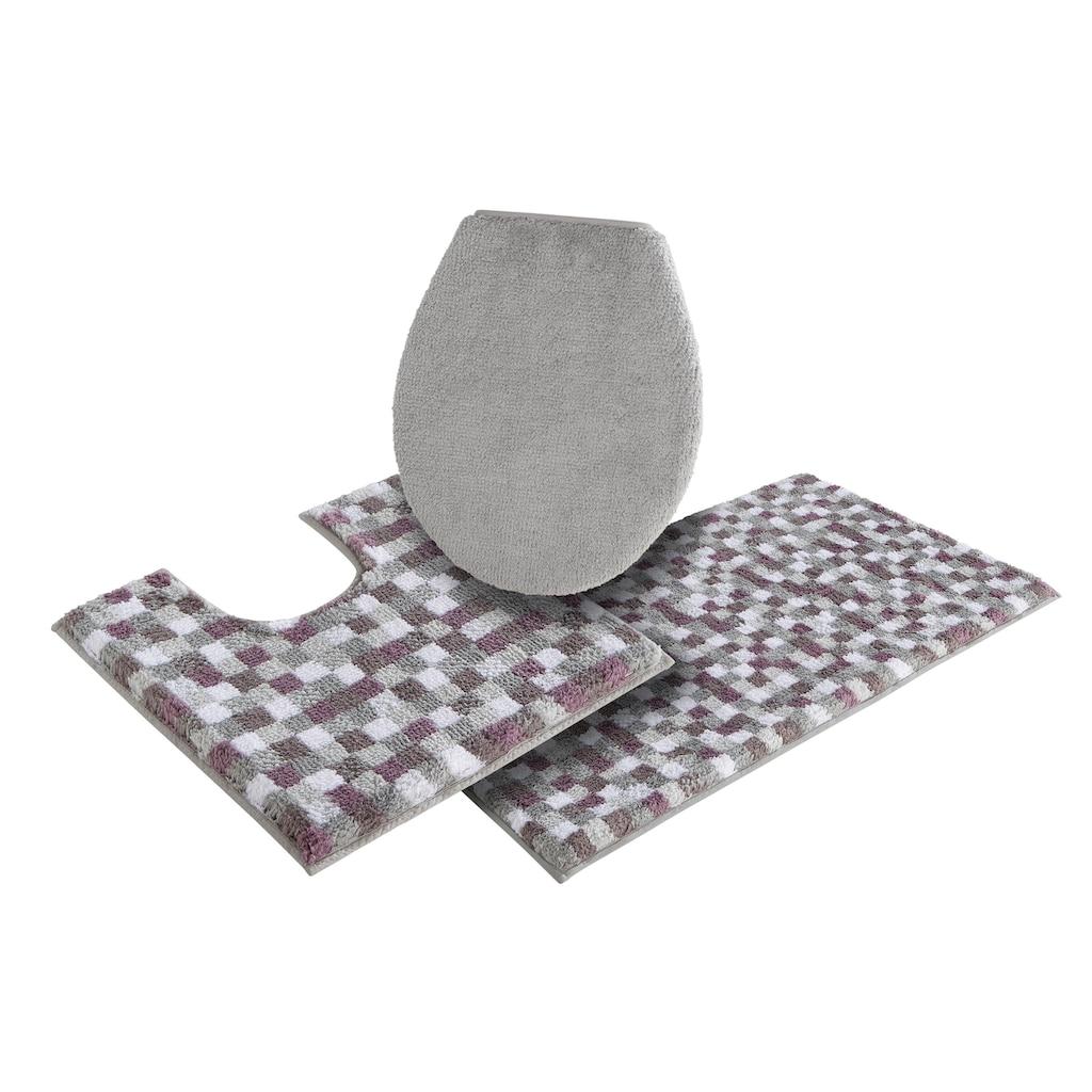 my home Badematte »Tita«, Höhe 16 mm, Besonders weich durch Microfaser