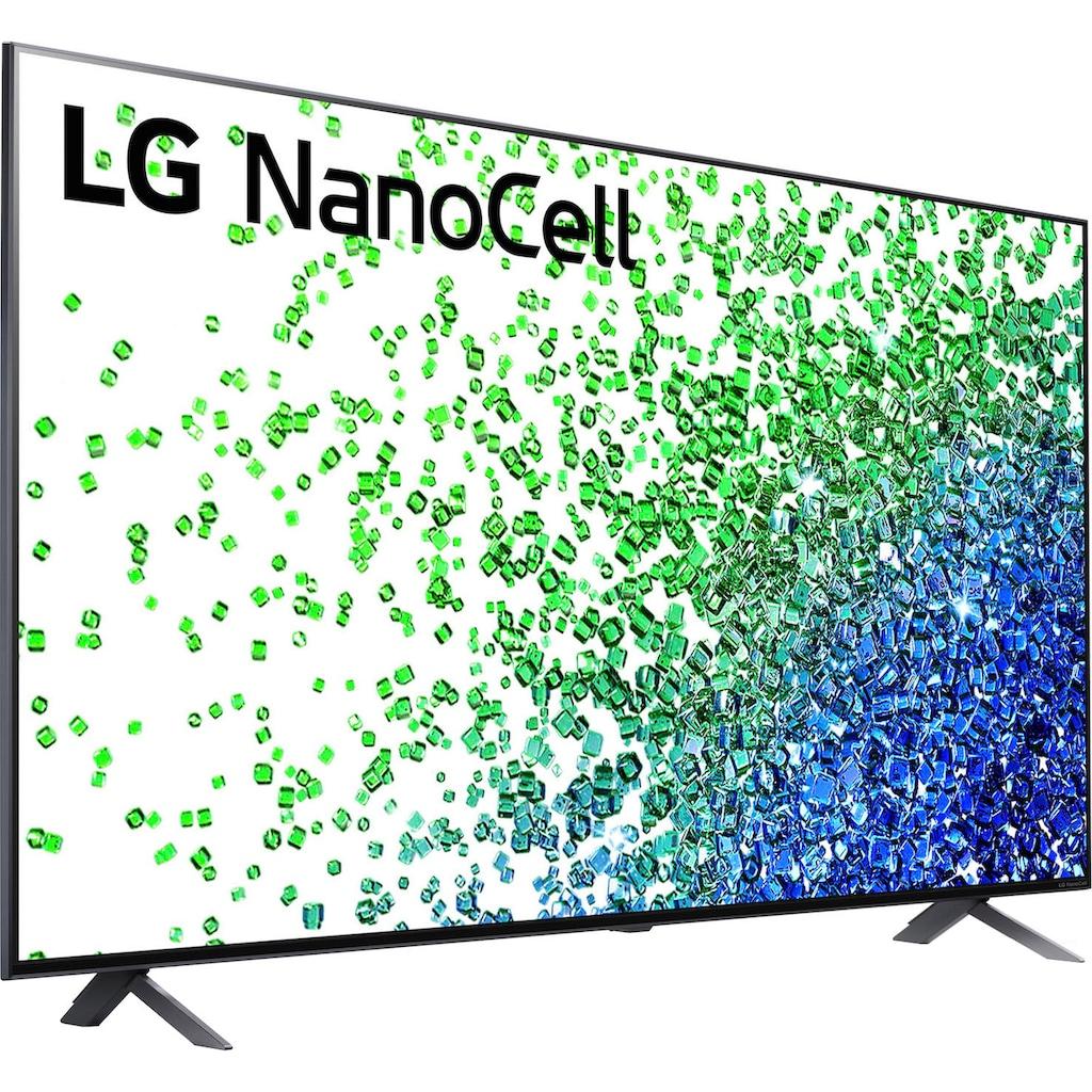 "LG LCD-LED Fernseher »55NANO809PA«, 139 cm/55 "", 4K Ultra HD, Smart-TV, Local Dimming-Sprachassistenten-HDR10 Pro"