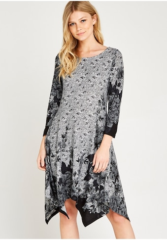 Apricot Strickkleid »Floral Edge Hanky Hem Dress«, mit asymmetrischem Saum kaufen