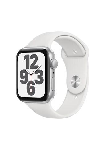 Apple Smartwatch »Serie SE, GPS, 44 mm Aluminium-Gehäuse mit Sportarmband«, (Watch OS... kaufen