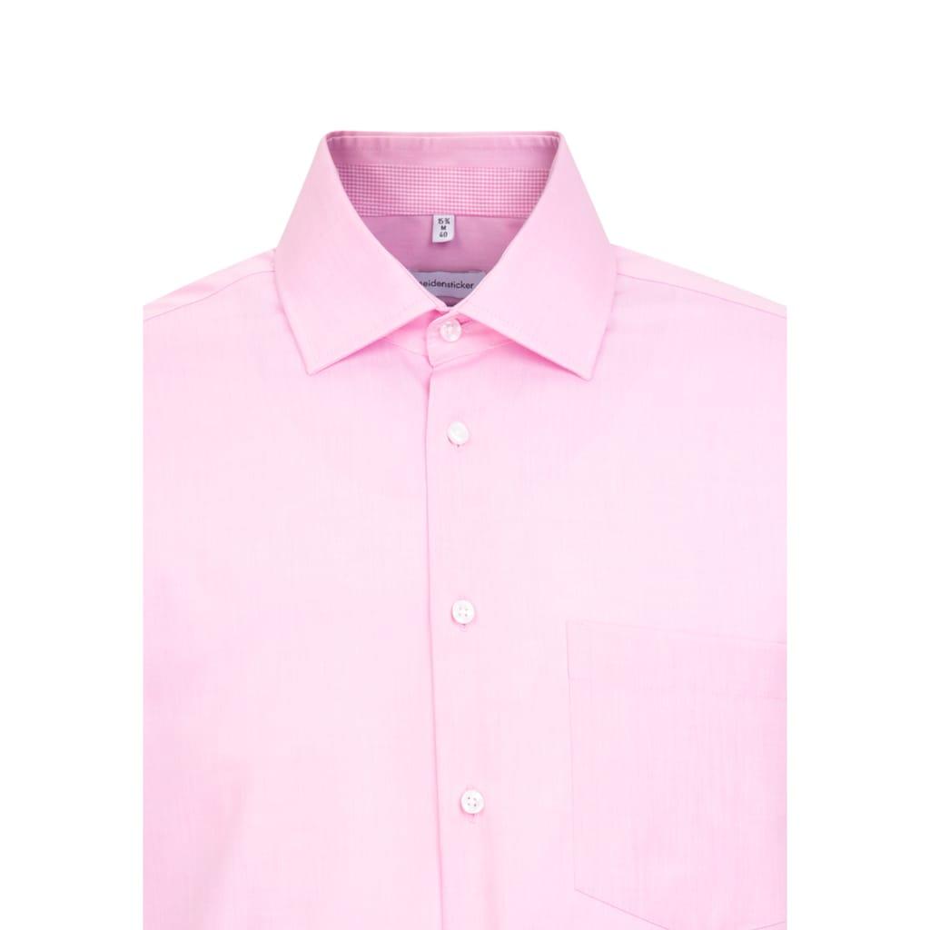 seidensticker Businesshemd »Regular«, Regular Langarm Kentkragen Uni