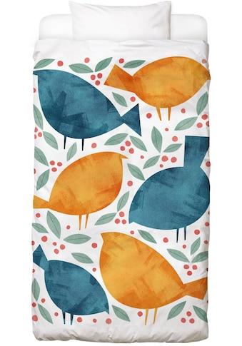 Bettwäsche »Birds«, Juniqe kaufen