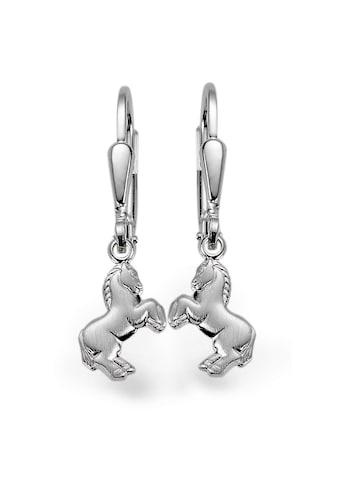 Ohrhänger Silberfarben Pferd kaufen