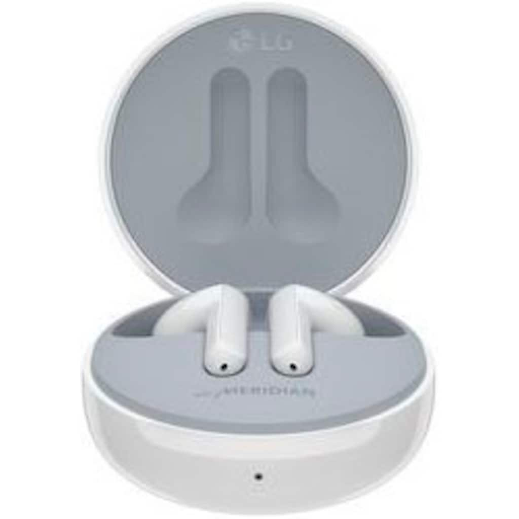 LG In-Ear-Kopfhörer »TONE Free FN4 Earbuds - Kabellose Bluetooth«, True Wireless, mit hypoallergenen Ohrstücken medizinischer Qualität