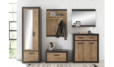 my home Garderoben-Set »BRÜGGE«, (Komplett-Set, 5 St., bestehend aus Garderobenschrank... kaufen
