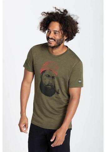 SUPER.NATURAL T-Shirt »M SAILOR TEE«, angenehmer Merino-Materialmix kaufen