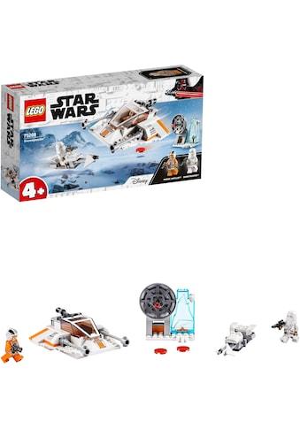 LEGO® Konstruktionsspielsteine »Snowspeeder™ (75268), LEGO® Star Wars™«, (91 St.), Made in Europe kaufen