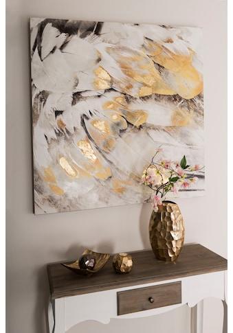 Home affaire Ölbild »Feder«, Masse (B/T/H): 100/3/100 cm kaufen