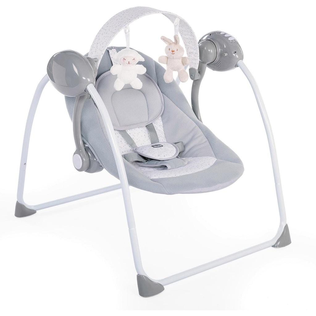 Chicco Babyschaukel »Relax & Play, Cool Grey«, bis 9 kg, elektrisch