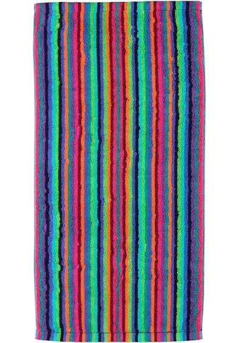Cawö Saunatuch »Lifestyle«, (1 St.), mit bunten Streifen kaufen