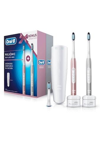 Oral B Elektrische Zahnbürste Pulsonic Slim Luxe 4900 kaufen