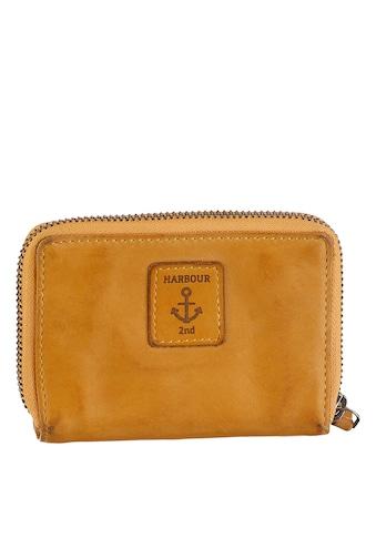 HARBOUR 2nd Geldbörse »B3-1543 al-kl-Isidora«, Aus griffigem Leder mit typischen... kaufen