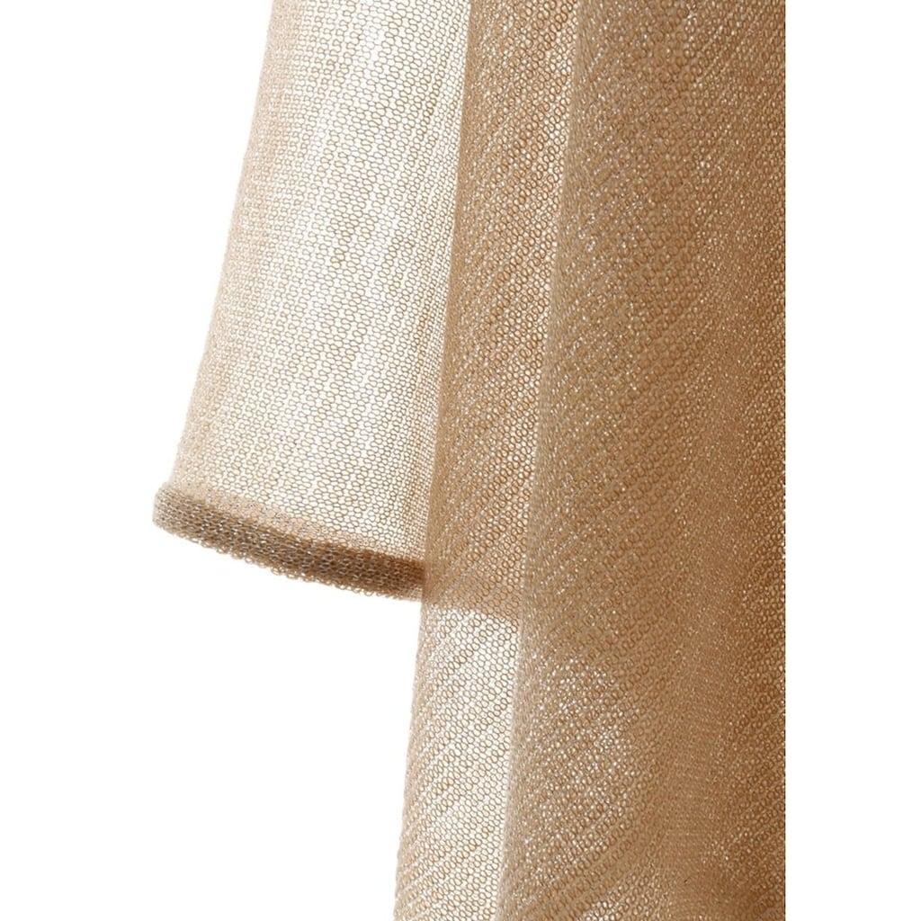 PURSET Schal, Trachtenponcho mit Lurex