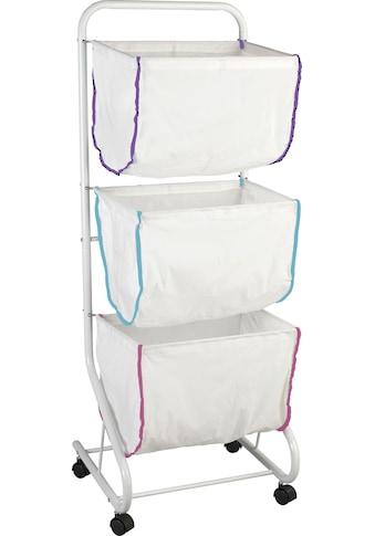 WENKO Wäschesortierer »Escala«, Mit 3 Körben kaufen