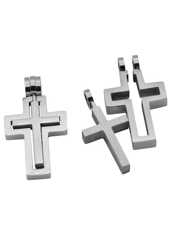 Firetti Anhänger Set »2-tlg. Set, Kreuze, Glanzoptik, massiv«, (Set, 2 tlg.), Made in Germany kaufen