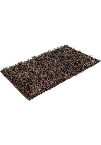 Badematte »Shaggy Uni«, Gözze, Höhe 50 mm, rutschhemmend beschichtet, fussbodenheizungsgeeignet kaufen