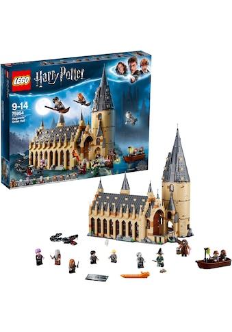 """LEGO® Konstruktionsspielsteine """"Die grosse Halle von Hogwarts (75954), LEGO® Harry Potter"""", Kunststoff, (878 - tlg.) kaufen"""
