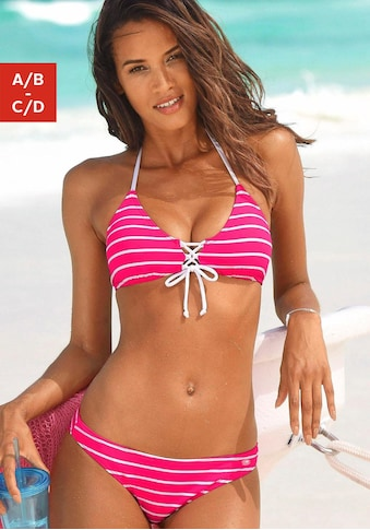KangaROOS Triangel-Bikini, in Streifenoptik kaufen