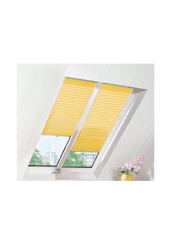 sunlines Dachfensterplissee nach Mass, verdunkelnd, mit Bohren, verspannt kaufen