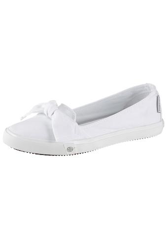 Dockers by Gerli Sneaker Ballerinas, mit auffälliger Schleife kaufen