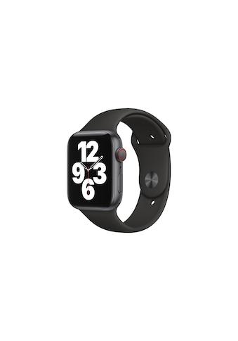 Apple Smartwatch »Serie SE, GPS Cellular, 44 mm Aluminium-Gehäuse mit Sportarmband«,... kaufen