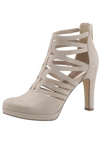 Tamaris High-Heel-Stiefelette, im sommerlichen Design kaufen