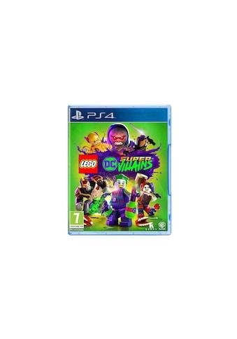 Warner Spiel »LEGO DC SuperVillains«, PlayStation 4, Standard Edition kaufen