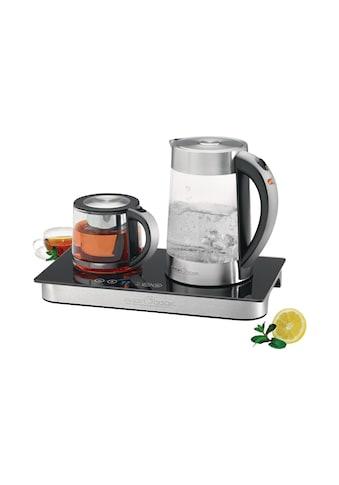 ProfiCook Wasser-/Teekocher »»PCTKS 1056, Silberfarben, Schwarz««, 2250 W kaufen