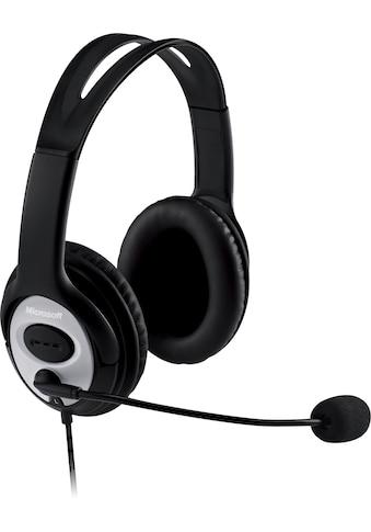 Microsoft Headset »LifeChat LX-3000«, Mikrofon abnehmbar kaufen