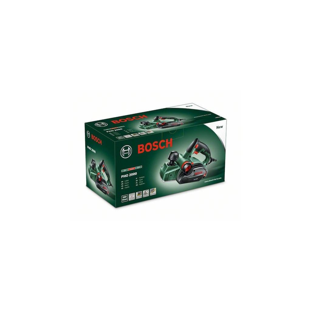 BOSCH Elektrohobel »PHO 2000«