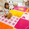 Sanat Kinderteppich »Bambino 2105«, rechteckig, 11 mm Höhe, Herzen Design, Kurzflor