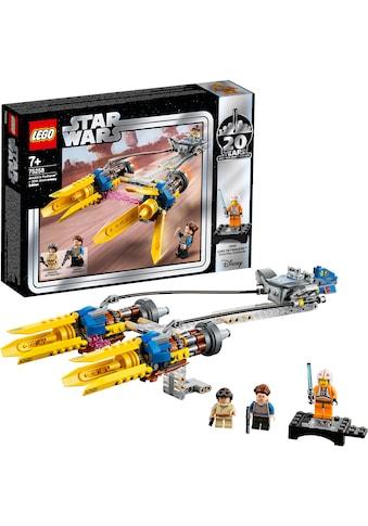"""LEGO® Konstruktionsspielsteine """"Anakin's Podracer™ – 20 Jahre LEGO Star Wars (75258) LEGO® Star Wars™"""", Kunststoff, (279 - tlg.) kaufen"""