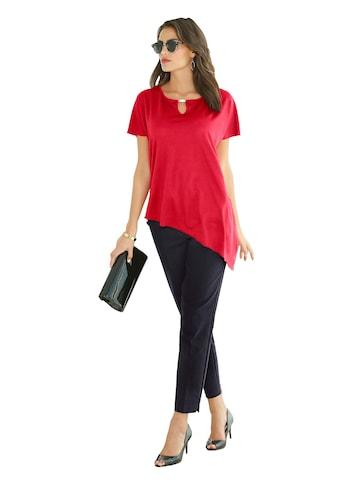 Lady Shirt mit asymmetrischem Saum kaufen