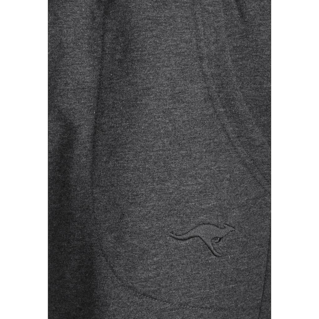 KangaROOS Relaxshorts, aus weicher Sweatware